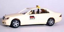 Mercedes Benz E-Klasse Taxi Modellbahn-Ausstellung