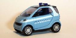 Smart City Coupe Polizei Italien