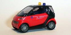 Smart City Coupe Feuerwehr Flughafen Genf