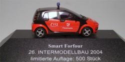 Smart ForFour ELW Feuerwehr Intermodellbau