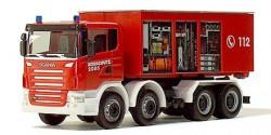 Scania R Abrollcontainer Feuerwehr 'Interschutz'