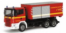 Scania R Abrollcontainer-LKW Feuerwehr