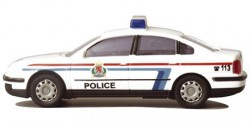 VW Passat Polizei Luxemburg