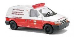 Dodge Ram Van Baltimore City Fire Department
