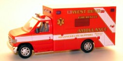 Ford E-350 West Bend Ambulance
