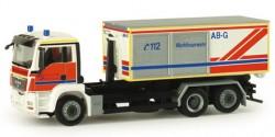 MAN TGS M Abrollcontainer-LKW Werkfeuerwehr Salzgitter AG