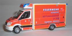 Mercedes Benz Sprinter Neugeborenen RTW Feuerwehr Hamburg