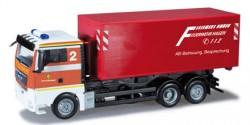 MAN TGX XL Abrollcontainer-LKW Feuerwehr Hagen