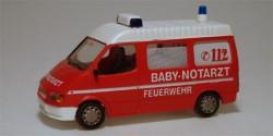 Ford Transit Feuerwehr RTW Baby-Notarzt