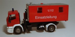 Iveco Eurotech Feuerwehr Container Einsatzleitung