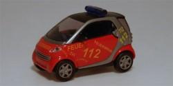 Smart City Coupe Feuerwehr Hamburg