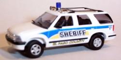 Chevrolet Blazer El Paso County Sheriff