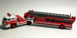 American LaFrance Ladder Fire Department New York