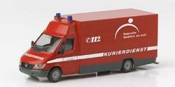 Mercedes Benz Sprinter Feuerwehr Kurierdienst