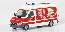 Mercedes Benz Sprinter RTW Feuerwehr Düsseldorf