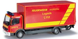 Mercedes Benz Atego Koffer-LKW GW Logistik Feuerwehr Wuppertal
