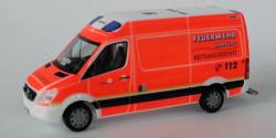 Mercedes Benz Sprinter RTW Feuerwehr Hamburg Rahlstedt