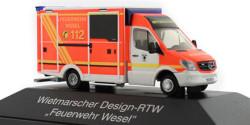 Mercedes Benz Sprinter RTW Feuerwehr Wesel