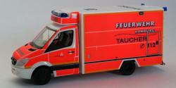 Mercedes Benz Sprinter GW-Taucher Feuerwehr Hamburg