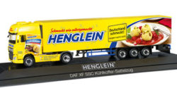 DAF XF SSC Kühlkoffer-Sattelzug Henglein