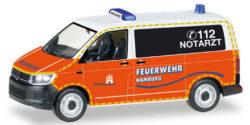 VW T6 NEF Feuerwehr Hamburg