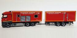 Mercedes Benz Actros `11 Tandemhängerzug MOBAS Feuerwehr Hamburg