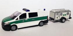 Mercedes Benz Vito Halbbus mit Hundetransportanhänger Zoll