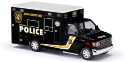 Ford E-350 Police Special Service Unit