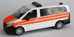 Mercedes Benz Vito Bundespolizei Notarzt polizeiärztlicher Dienst / Sanitätsdienst