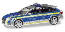 Audi A4 Avant Polizei Ingolstadt